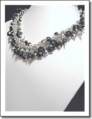 Luxury Line:  Elegance  Necklace by Jeanne M  Bellone (JMB)