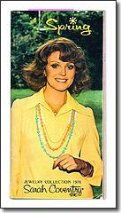 Sarah Coventry Catalogue Book Spring 1976