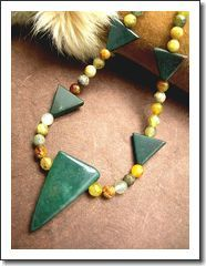 Man's Serpentine   Bloodstone Necklace (Choker)