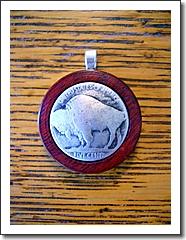 Buffalo nickel pendant