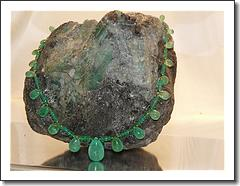 Columbian Emerald Necklace  Ruby Lane Special