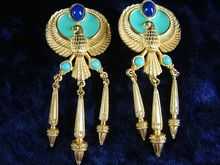 Elizabeth Taylor for Avon Egyptian Collection Earrings