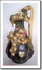 Rare Amphora Art Nouveau Pitcher
