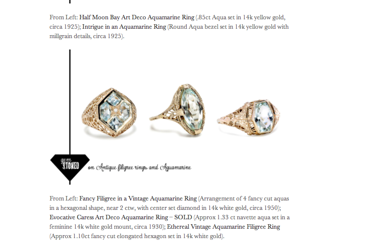Birthstones For Each Month 2014 March 2014, gemstonedblog,birthstone ...
