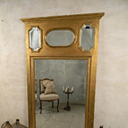 1930's French Art Deco Style Mirror