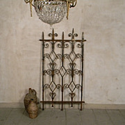 Early 1900s Wrought Iron Gate