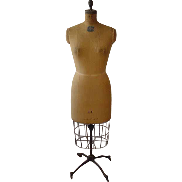 Dress Form With Metal Cage