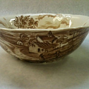 Alfred Meakin Staffordshire Reverie Serving Bowl
