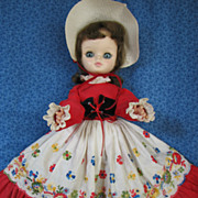 Vintage Effanbee Doll 1965 Model1700 All Original Excellent Condition