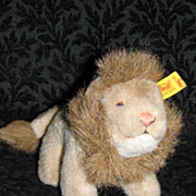 Vintage Steiff Leo the Lion #1460/13 with Button Tag