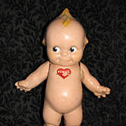 "11"" Kewpie Doll Composition Original Rose O'Neill  Label"