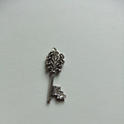 Key To My Heart Pendant Charm Sterling Silver Pendant