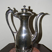 SOLD Antique Art Nouveau Pairpoint Quadruple Plate Teapot