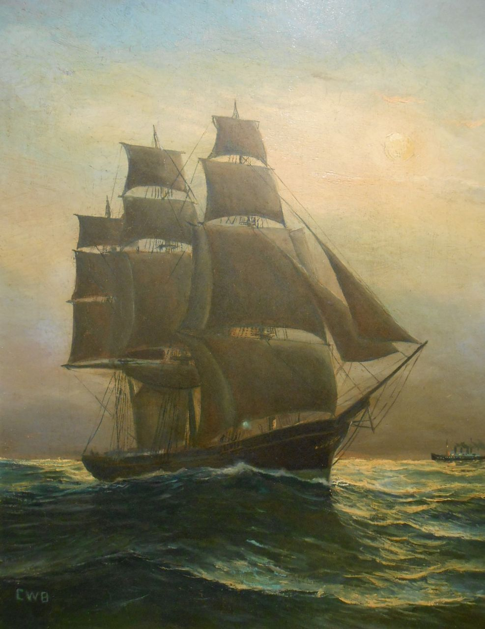 Antique Nautical Paintings For Sale