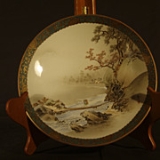 Satsuma Earthenware Dish