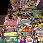 50 Comics 1966- 1980 Thor ,Fantastic Four ,Superman ,Batman ,Hulk  Amazing Spiderman and more