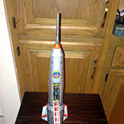 Vintage Interkozmosz Holdraketa Moon Explorer Rocket  Moon Landing Space Vehicle!.