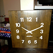 REDUCED Seth Thomas butcher block clock