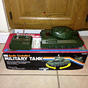 Sears Radio controlled Military Tank..Vintage....GI Joe