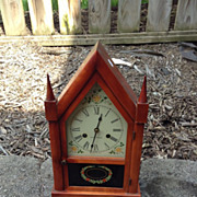SOLD Seth Thomas Cathedral or Steeple shelf or mantel clock