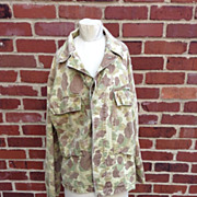 WWII US Army Camouflage Jacket 36R Real