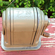 A Vintage Boston Ranger 55 Pencil Sharpener 1960's