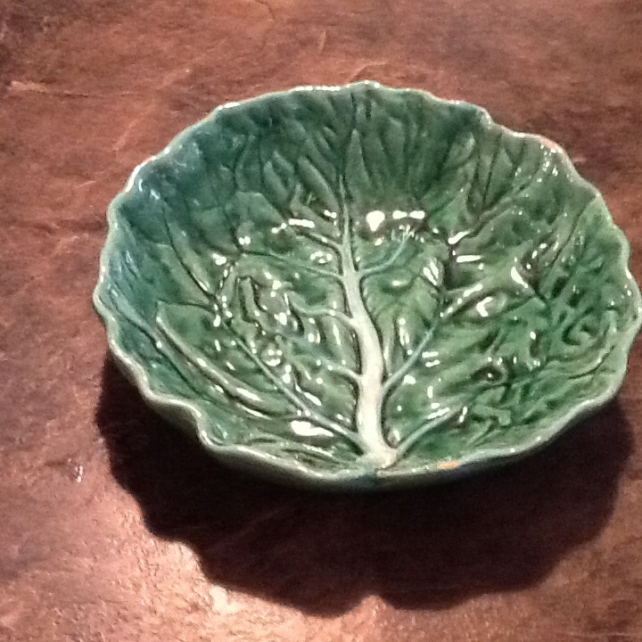 Bordallo pinheiro portugal cabbage bowl no 1381 from - Bordallo pinheiro portugal ...