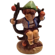 REDUCED Traditional German M.I. Hummel Figurine;  Apple Tree Boy