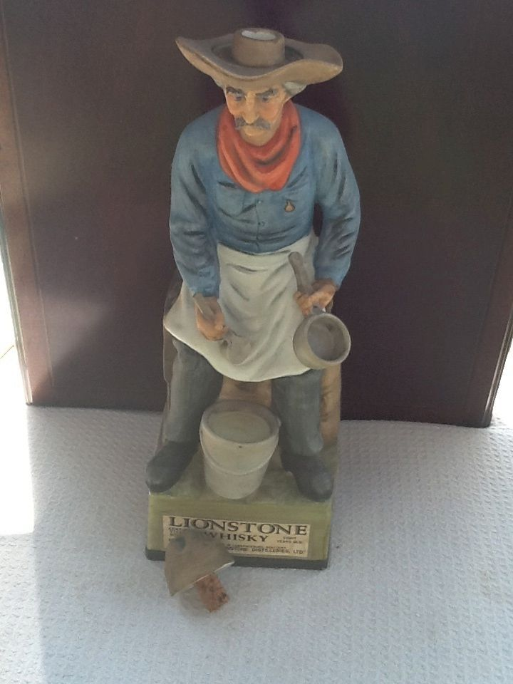 Vintage Decanter Original Lionstone Camp Cook From Finders2006 On Ruby Lane
