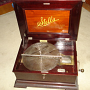 Antique Stella disc music box