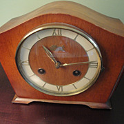 Hermle SchwebeAnker Made In Germany Mantel Clock