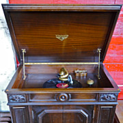 1925 Victrola Credenza Phonograph