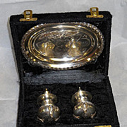 SOLD International Sterling Co. Silverplate