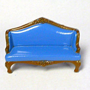 1980 Mattel Doll House Furniture Couch