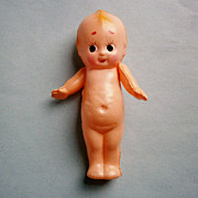 Celluloid Hand Painted Kewpie Doll
