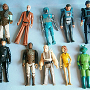 (10) Action Figures from Star Wars and others