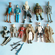 Assorted Action Figures mostly Star Wars