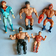 Wrestling Action Figures from the 1980�s