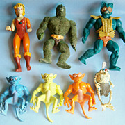 (7) Monster Action Figures from the 1980�s