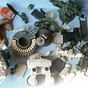 Assorted Parts & Pieces for Action Figures