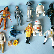 Collection of Action Figures, mostly Star Wars