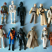 Lot of Action Figures from Star Wars plus others