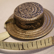 Figural Hat Tape Measure