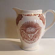 Meakin Fair Winds Staffordshire Pitcher