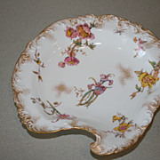 Antique Royal Crown Derby Floral Gilt Serving Plate