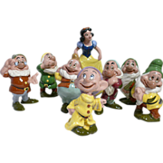 Snow White and the Seven Dwarfs by American Art Pottery