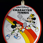 Disney Wooden Tennis Racquet