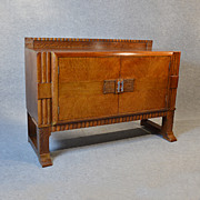 Antique Sideboard Dresser Art Deco Quality Oak Buffet Cabinet c1930