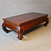 Coffee Table Low Sofa Magazine Lounge Table Oriental Asian Art Deco Period