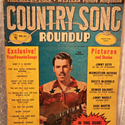 April 1953 Country Song Roundup Magazine